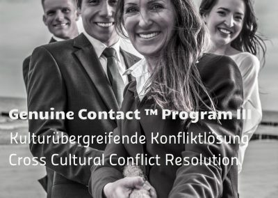 Genuine Contact™ III: Holistische Konfliktlösung – 19. – 20.7.2018