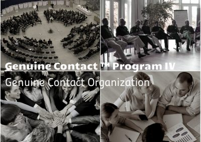 "Genuine Contact™ IV: ""Genuine Contact Organization"""