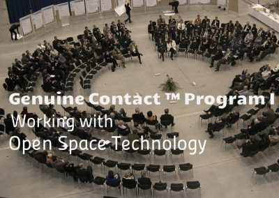 Genuine Contact™ I: Open Space Technologie Ausbildung 9.-11.6.2018