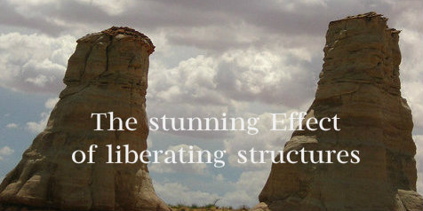 The stunning effect of liberating structures