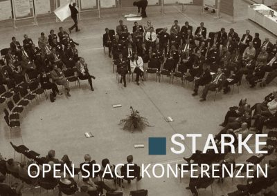 Starke Open Space Konferenzen leiten – WORKSHOP 9.-11.6.2018