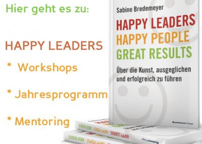 Das Happy-Leaders Workshop-Programm